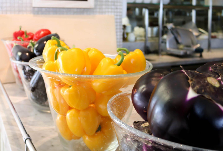 La Petite Maison - Chef's bar vegetables - best restaurant for lunch in Dubai on the Lifestyle Enthusiast blog