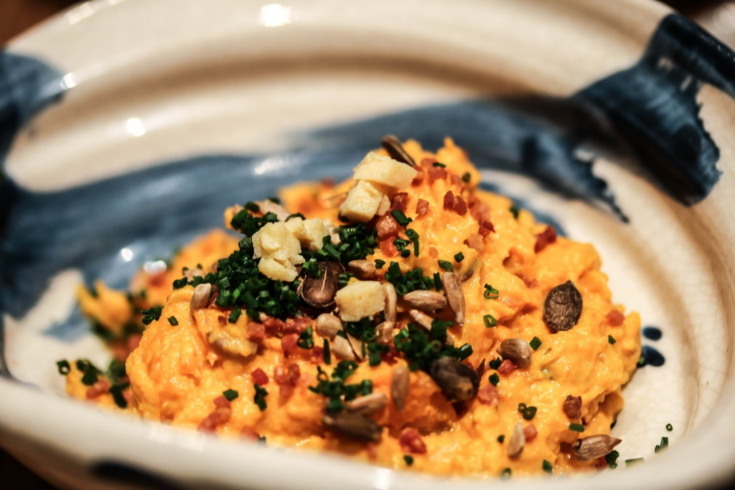 Roka Aldwych - Lifestyle Enthusiast Blog - What to order at Roka - Sweet potato and pumpkin salad