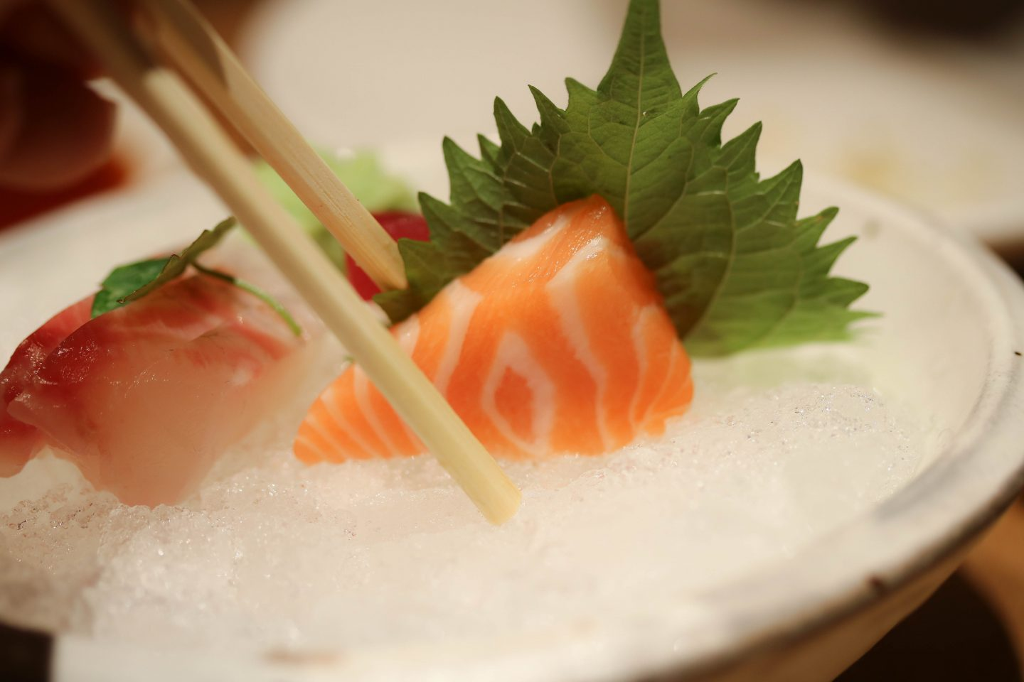 Roka Aldwych - Salmon Sashimi - Lifestyle Enthusiast Blog - What to order at Roka