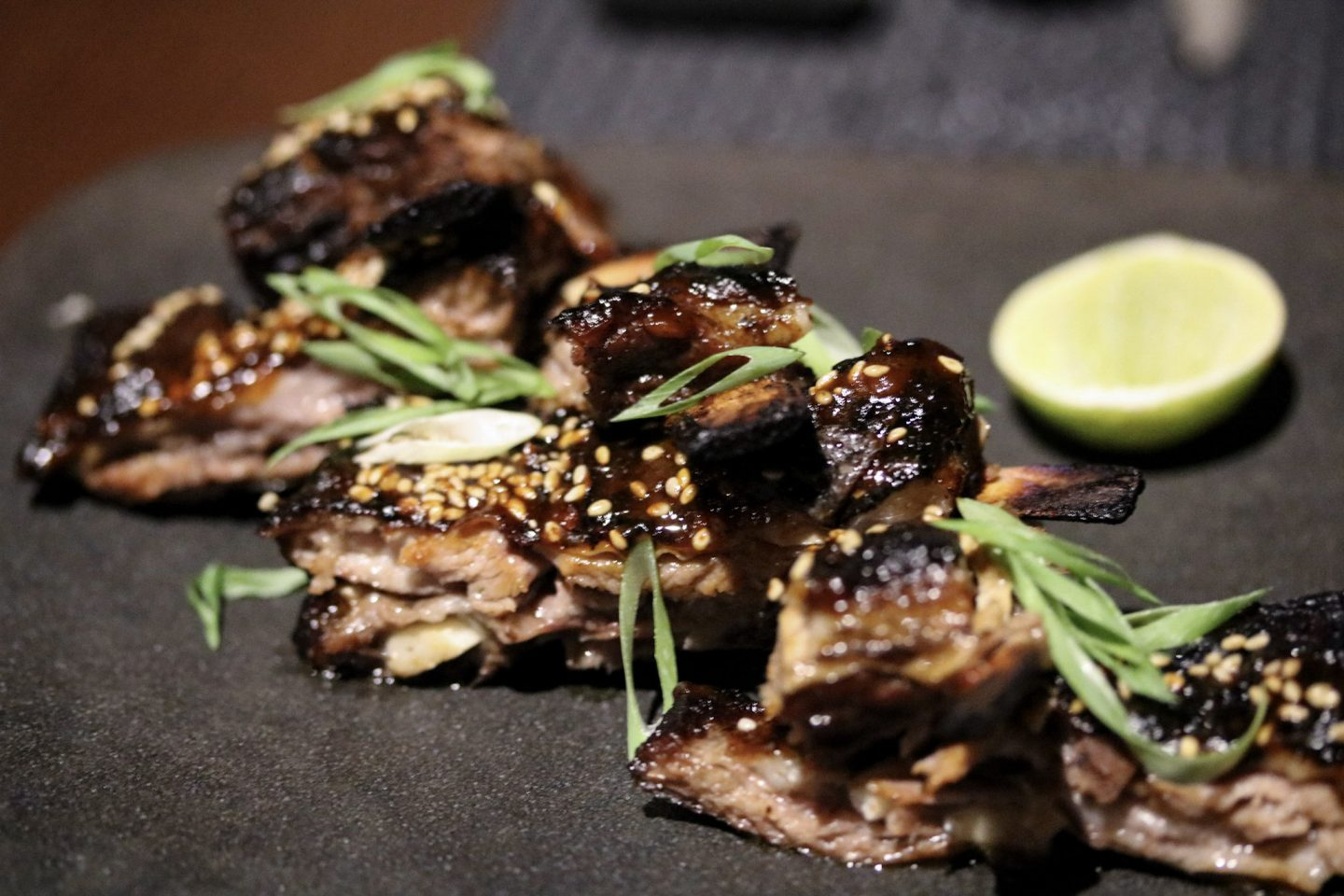 Dinner at Zengo Le Royal Meridien Dubai Lamb - Lifestyle Enthusiast blog