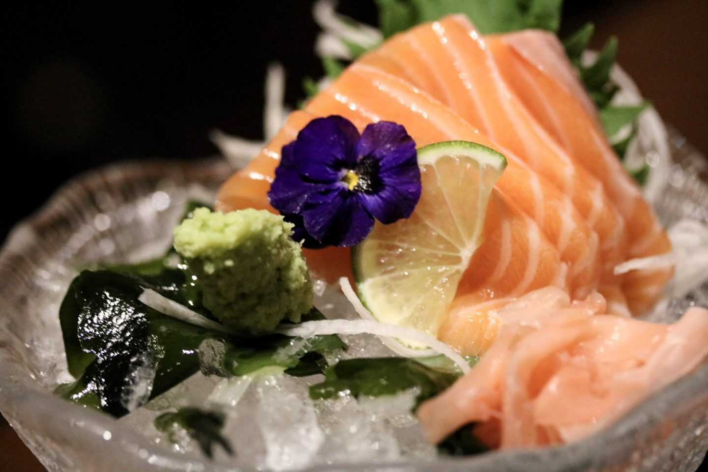 Dinner at Zengo Le Royal Meridien Dubai - Sashimi - Lifestyle Enthusiast blog