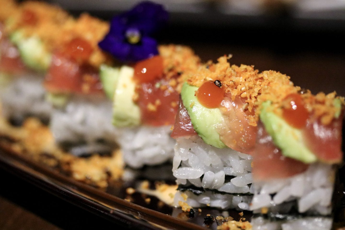 Dinner at Zengo Le Royal Meridien Dubai Angry Zengo Maki Rolls Sushi - Lifestyle Enthusiast blog