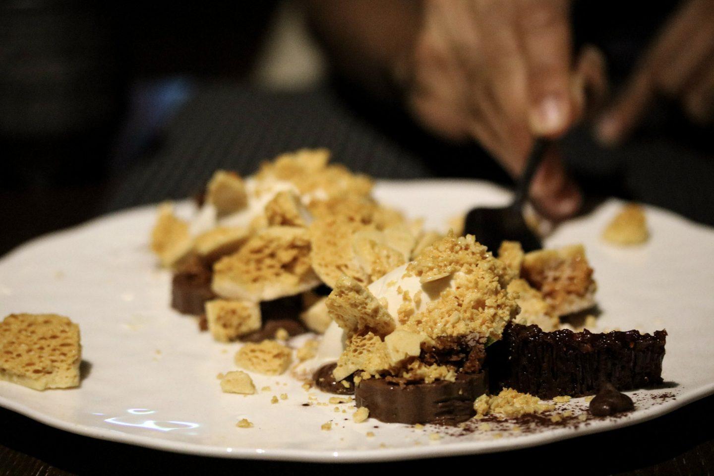 Dinner at Zengo Le Royal Meridien Dubai Chocolate Pudding - Lifestyle Enthusiast blog