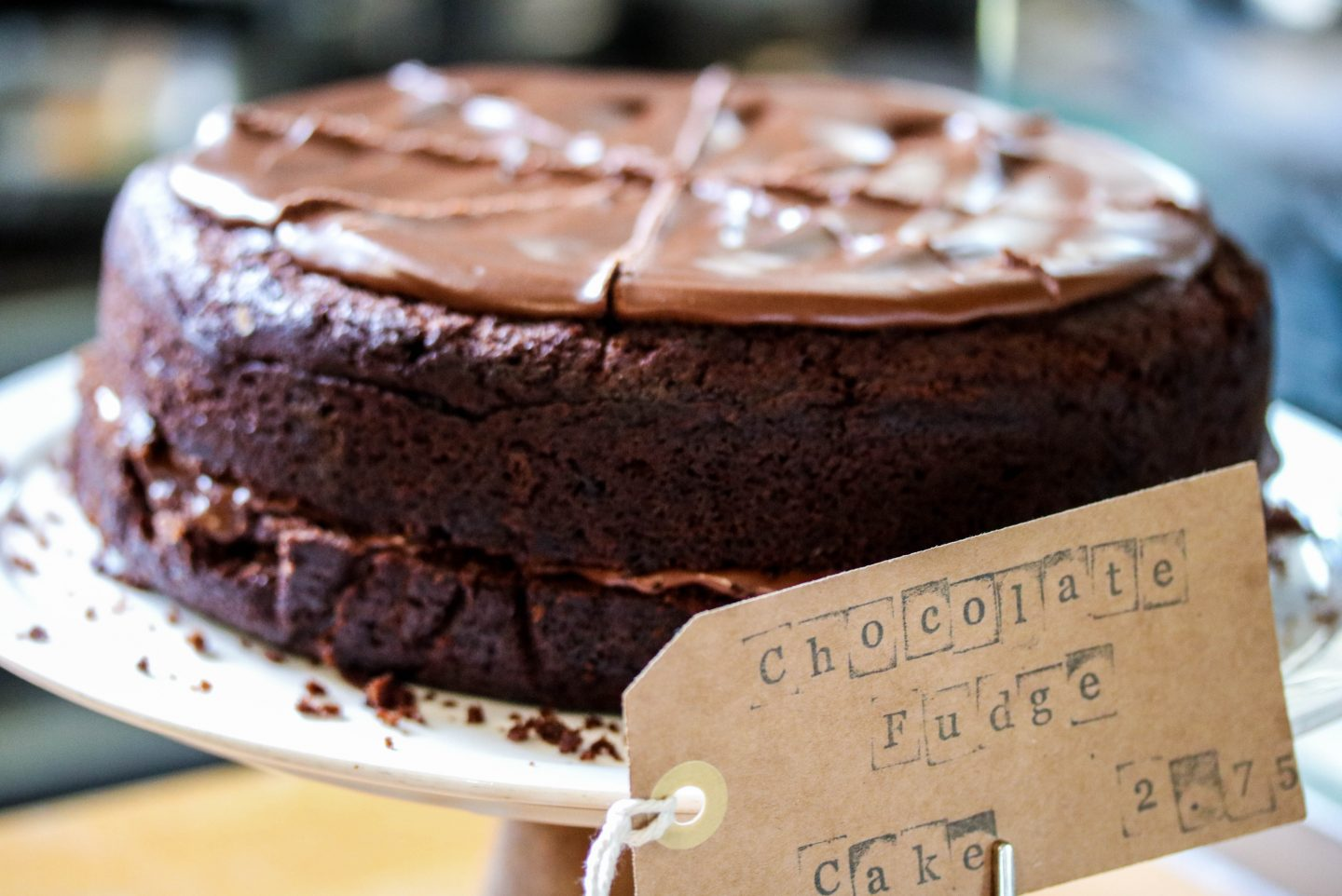 Mill Kitchen Farsley, the best breakfast in Yorkshire, Review on the Lifestyle Enthusiast - Chocolate Fudge Cake