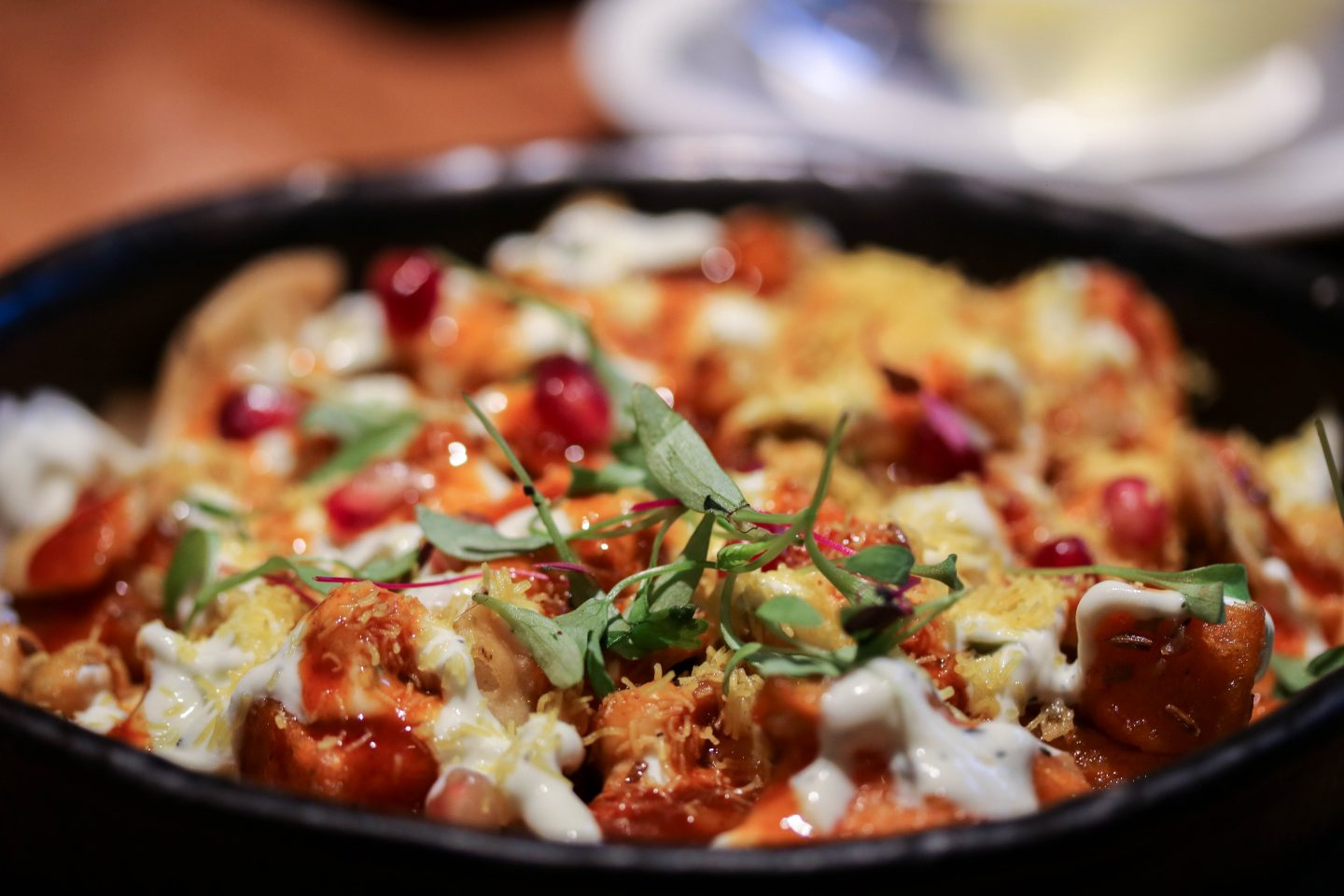 Shakarkandi Chaat at Chai Ki, Canary Wharf - Lifestyle Enthusiast Blog Recovery Brunch Review