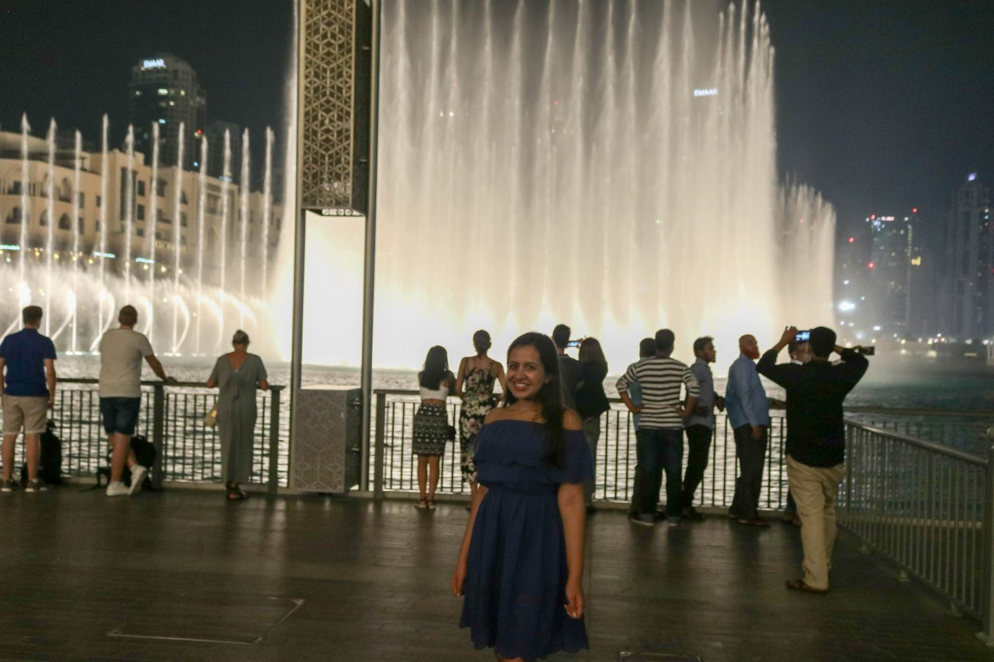 Dubai Fountains - Top 10 Things to do in Dubai - The Lifestyle Enthusiast Blog