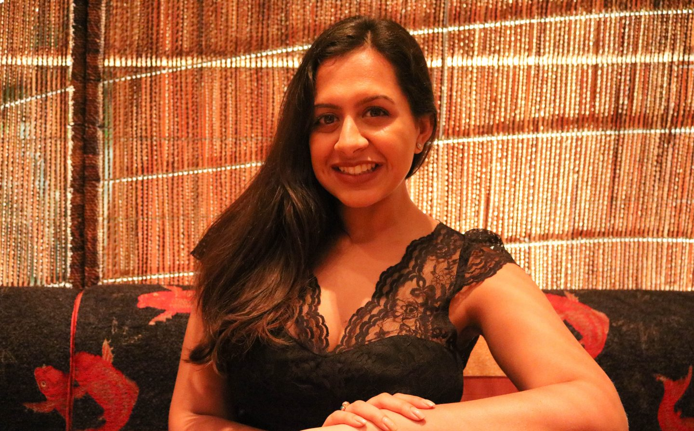 Nobu Dubai Reena at table _ Lifestyle Enthusiast blog