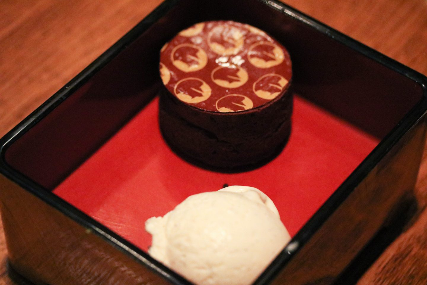 Nobu Duba Chocolate Fondant Bento Box with icecream _ Lifestyle Enthusiast blog