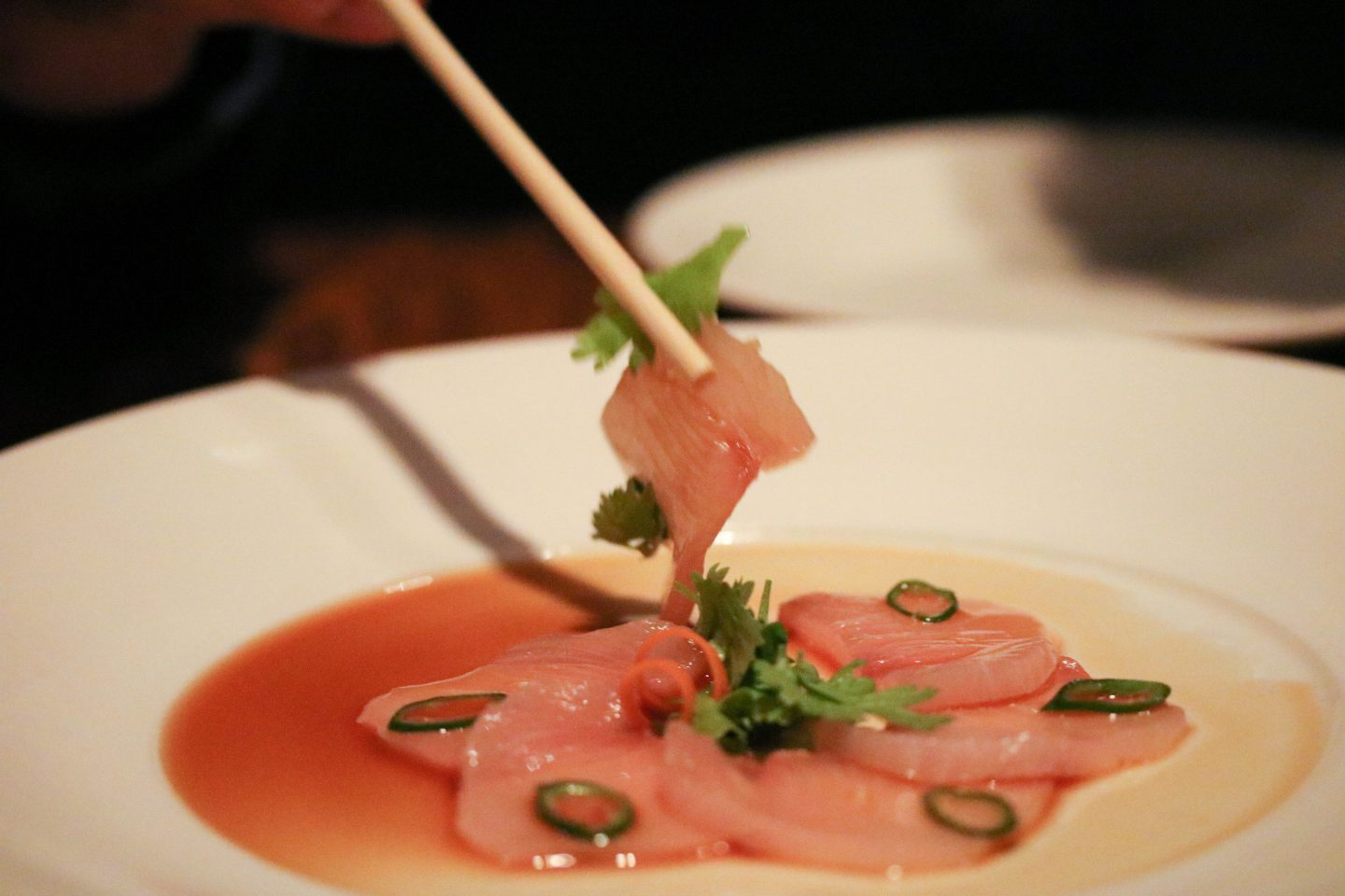 Nobu Yellowtail Sashimi _ Lifestyle Enthusiast blog