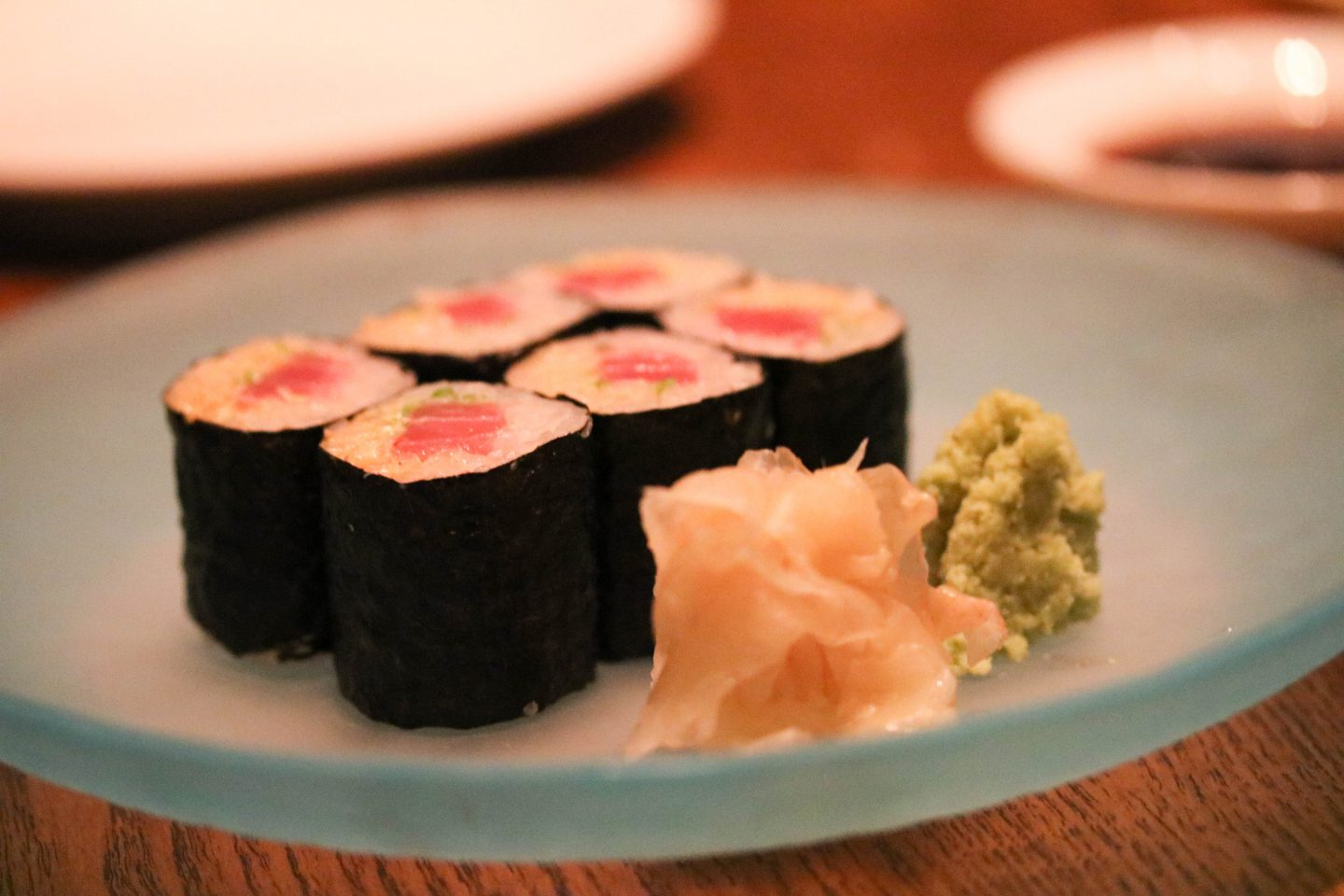 Nobu Dubai Spicy Tuna Sushi Roll _ Lifestyle Enthusiast blog