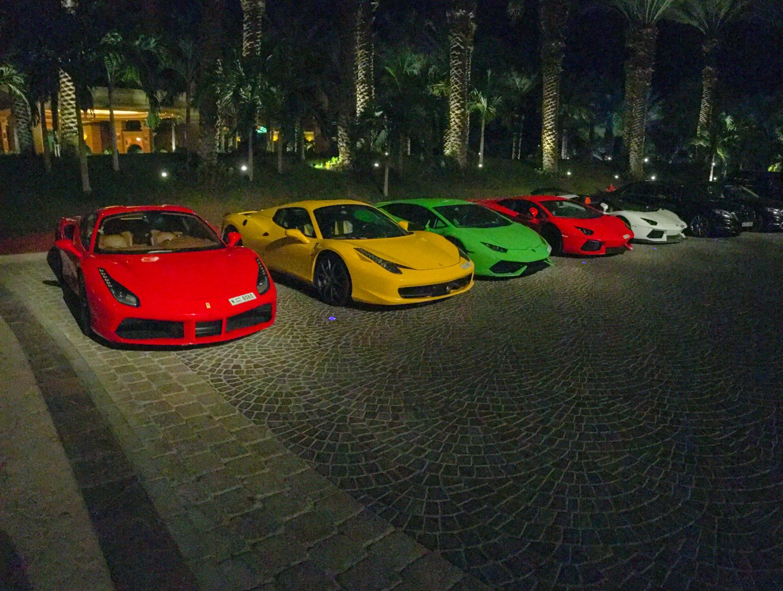 Nobu Dubai Atlantis Ferrari