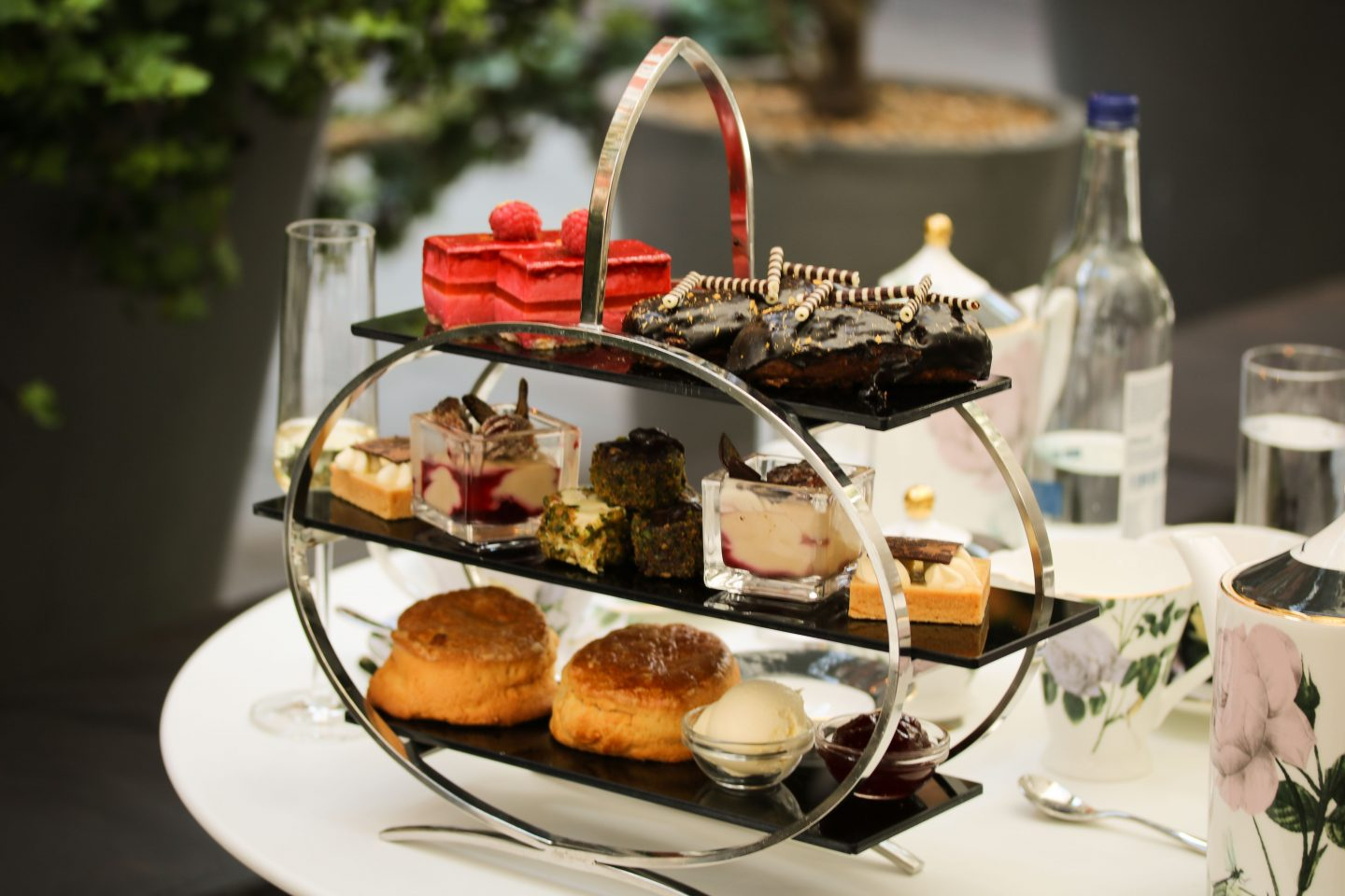 Afternoon tea at St Martins Lane hotel