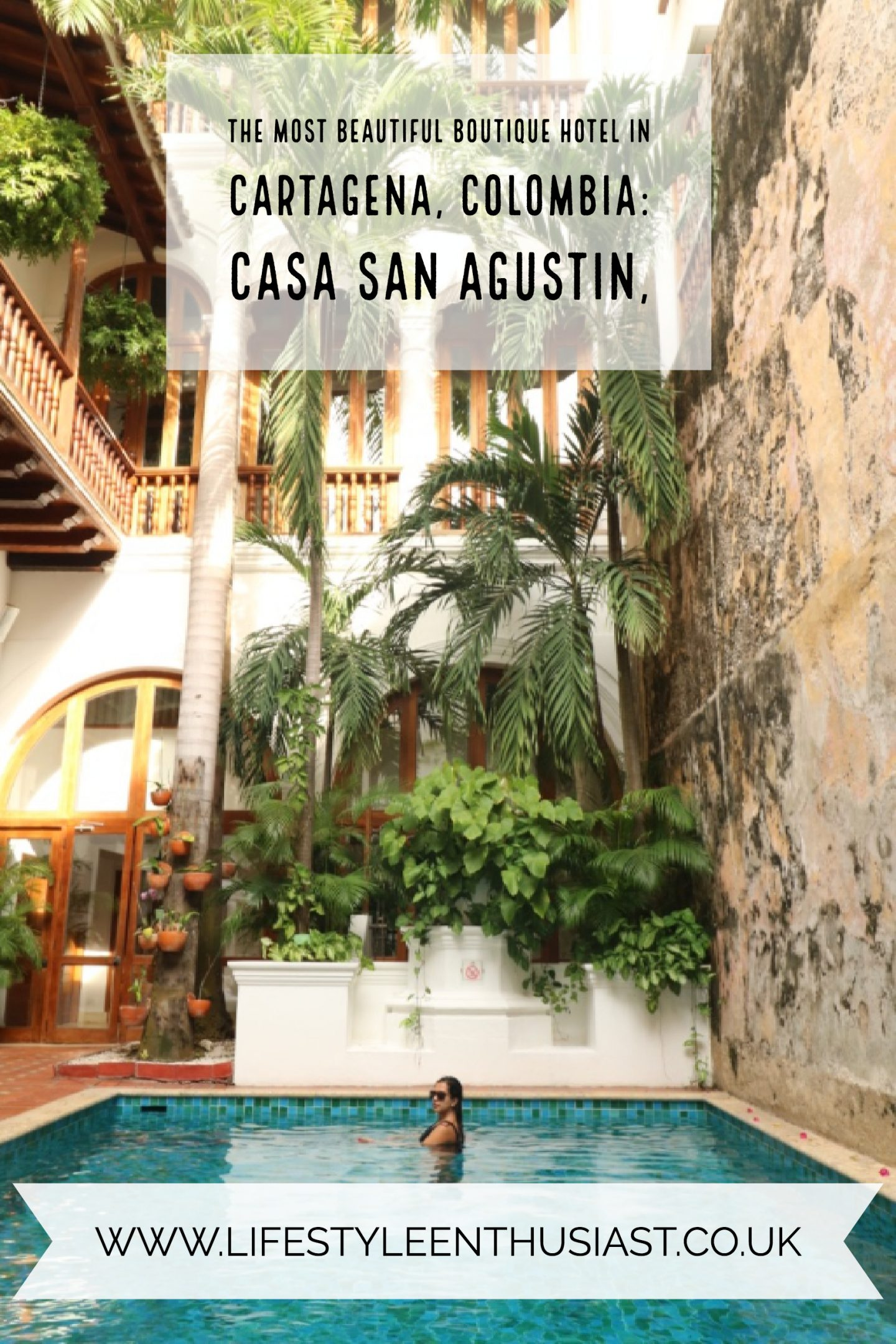 Pinterest button for Casa San Agustin