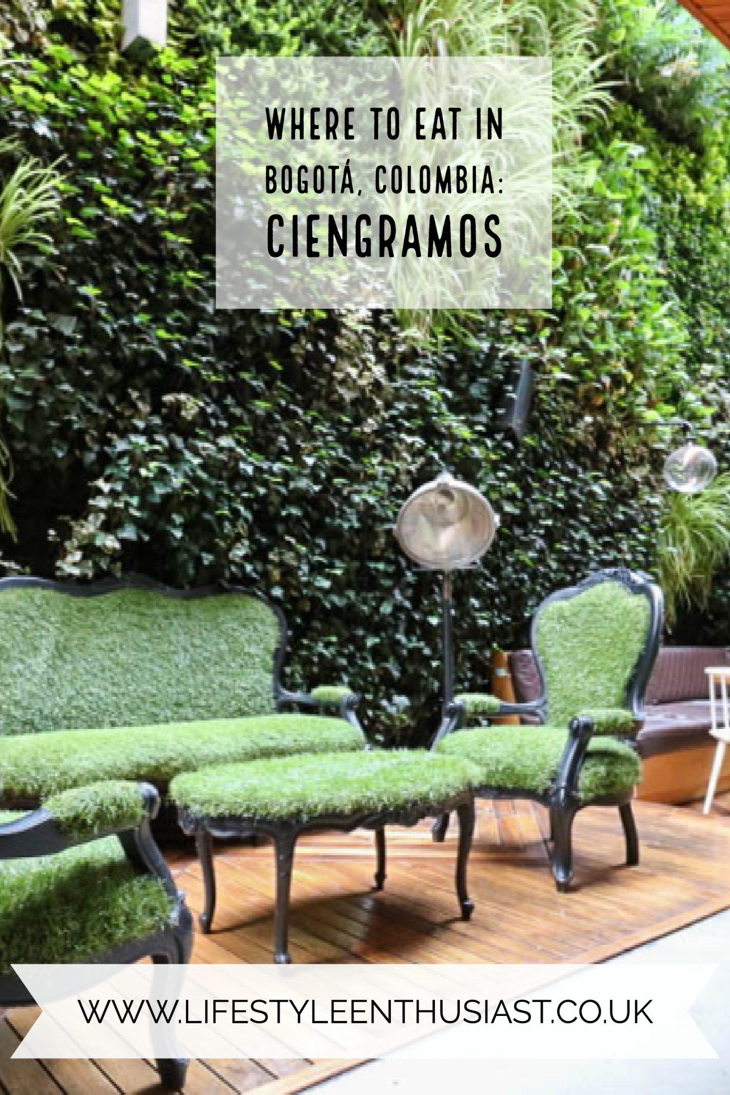 Ciengramos at Click Clack Hotel, Bogota, Colombia.