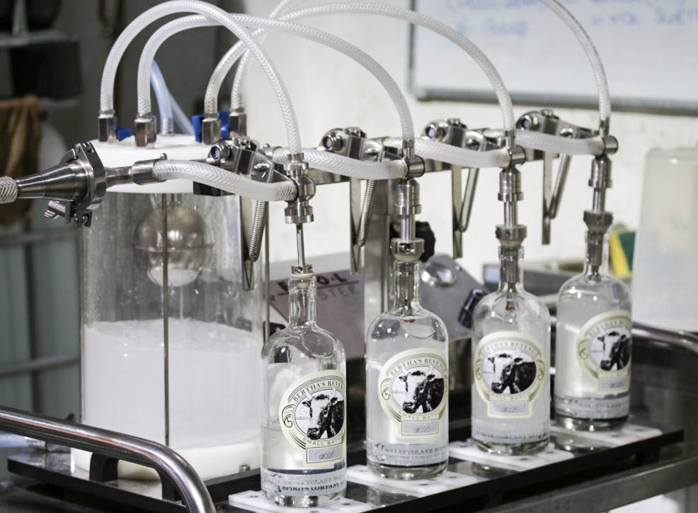 Bertha's Revenge gin at Ballyvolane House distillery