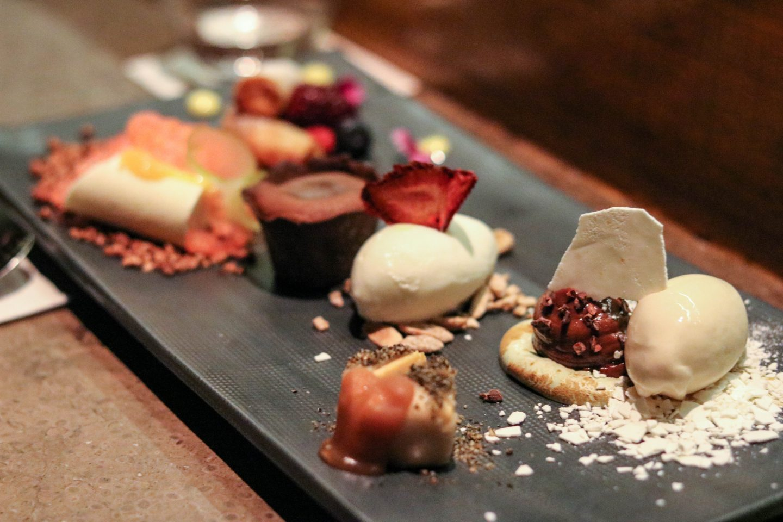 Osaka Lima Peru Dessert Platter to share