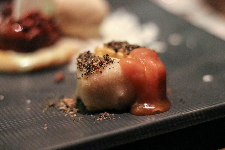Osaka Lima Peru Dessert Platter Miso Toffee Crumble
